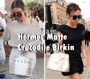 Hermes Matte Crocodile Birkin